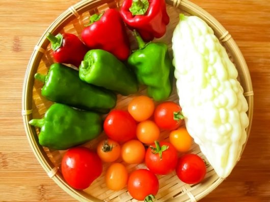 白ゴーヤサラダ