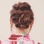 浴衣髪型ロング