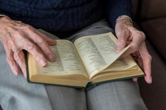 高齢者指関節