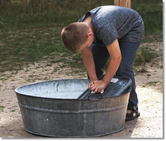 尿シミ洗濯