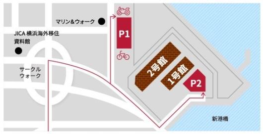 赤レンガ駐車場